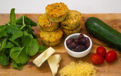 Antipasto Keto Muffins