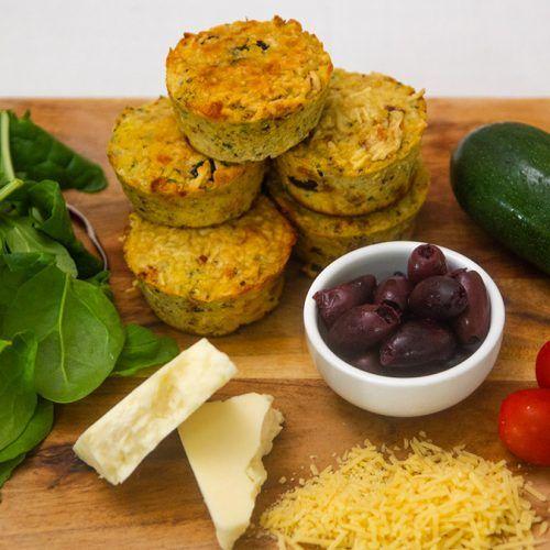 Antipasto Keto Muffins 2