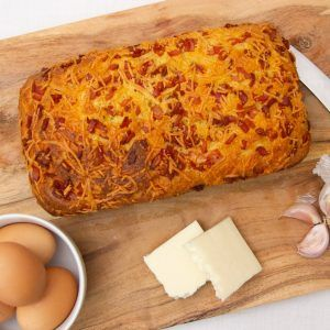 Cheese and Bacon Keto Bread - Instagram