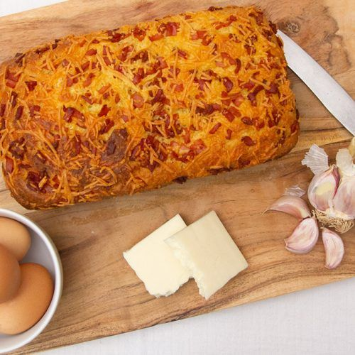 Cheese and Bacon Keto Bread 2