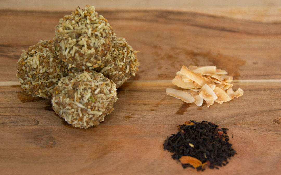 Coconut Chai Keto Fat Bombs with No Sweetener