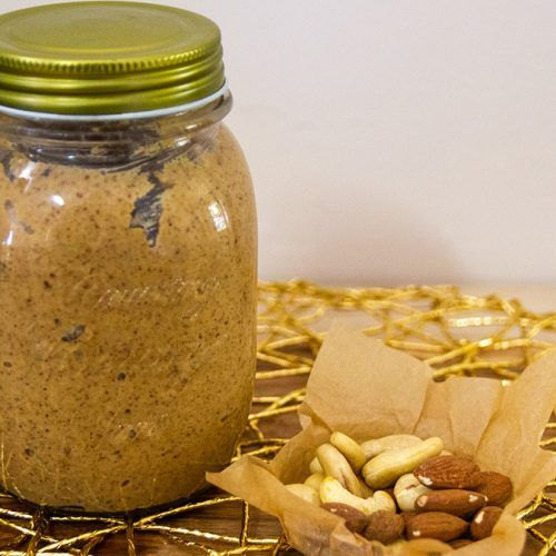 Cashew and Almond Nut Butter 2