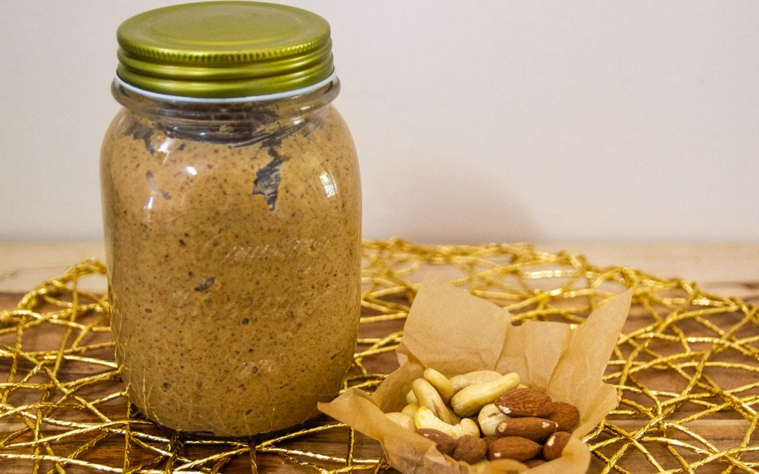 Cashew and Almond Nut Butter