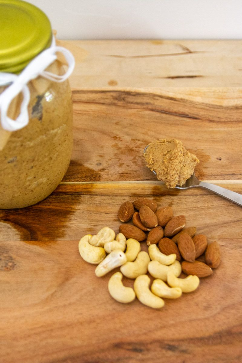 Cashew and Almond Nut Butter 1