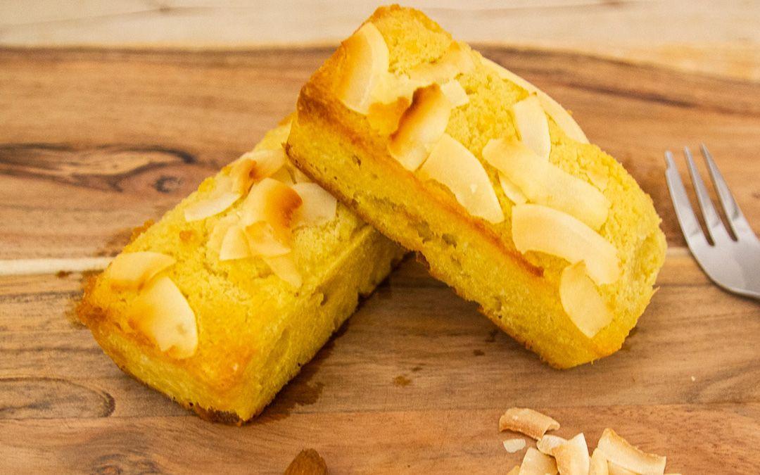 Coconut Almond Keto Cakes