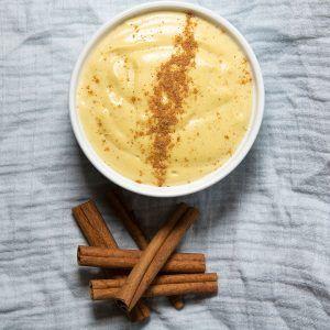 Creamy Keto Vanilla Custard - Instagram