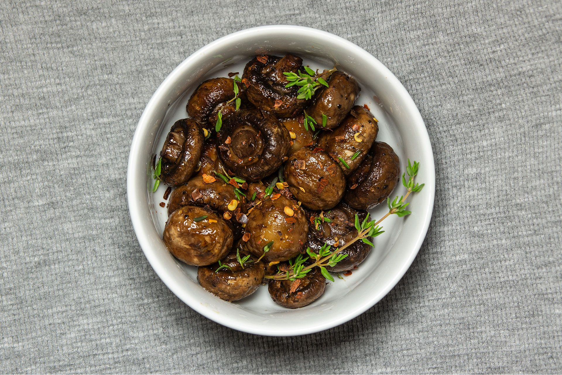 Keto Roasted Mushrooms 1