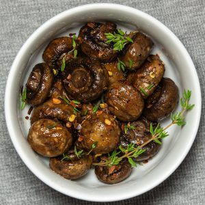 Keto Roasted Mushrooms - Instagram
