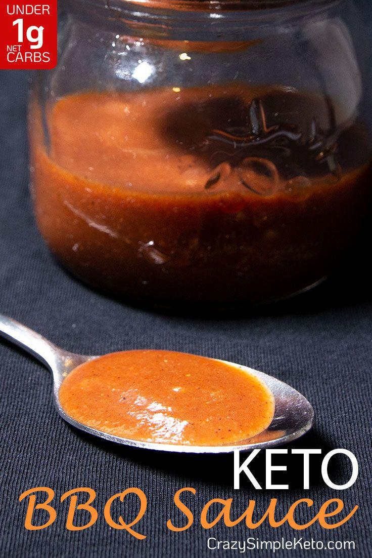 Keto BBQ Sauce - CrazySimpleKeto.com