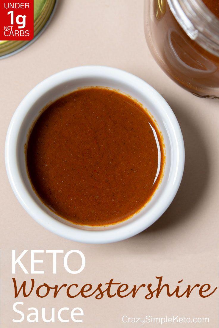 Keto Worcestershire Sauce - CrazySimpleKeto.com