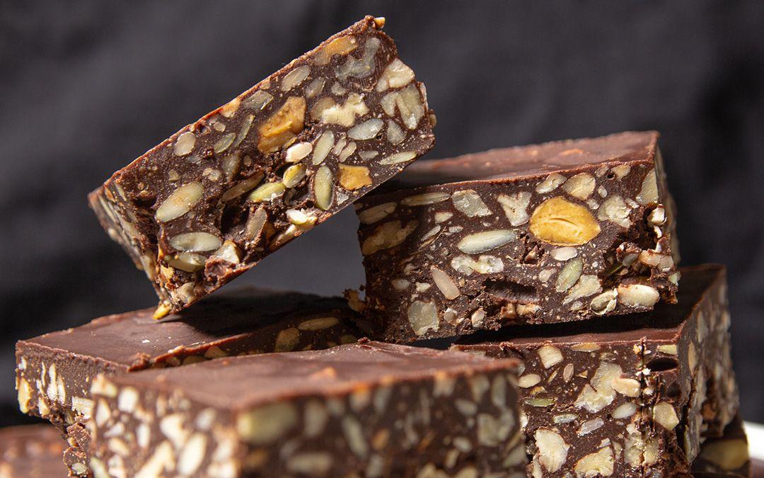 Keto Chocolate Nut Bars