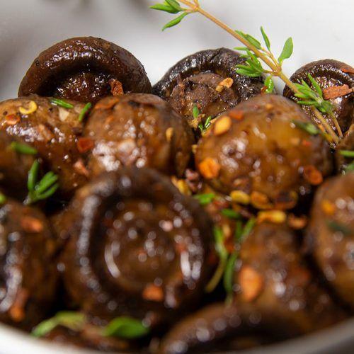 Keto Roasted Mushrooms 2