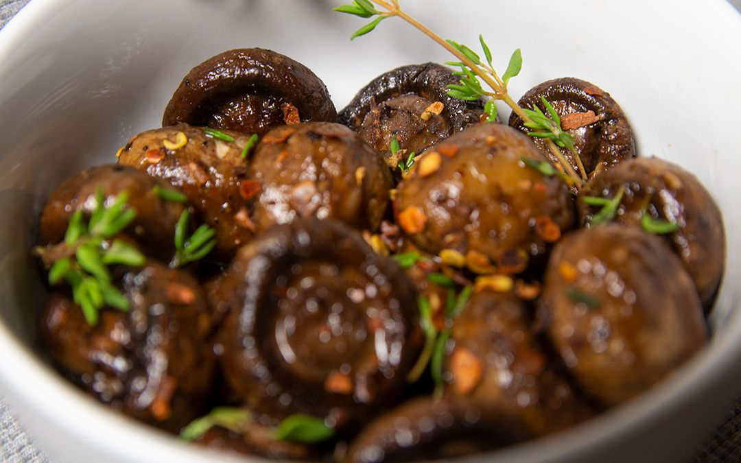Keto Roasted Mushrooms