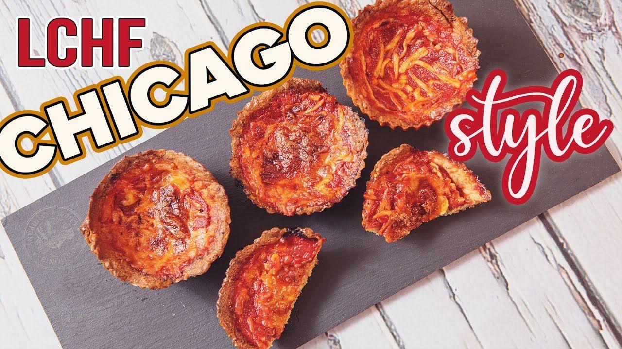 1g Carb DEEP DISH PIZZA Bites 🍕 Low Carb EASY Keto Snacks Recipe