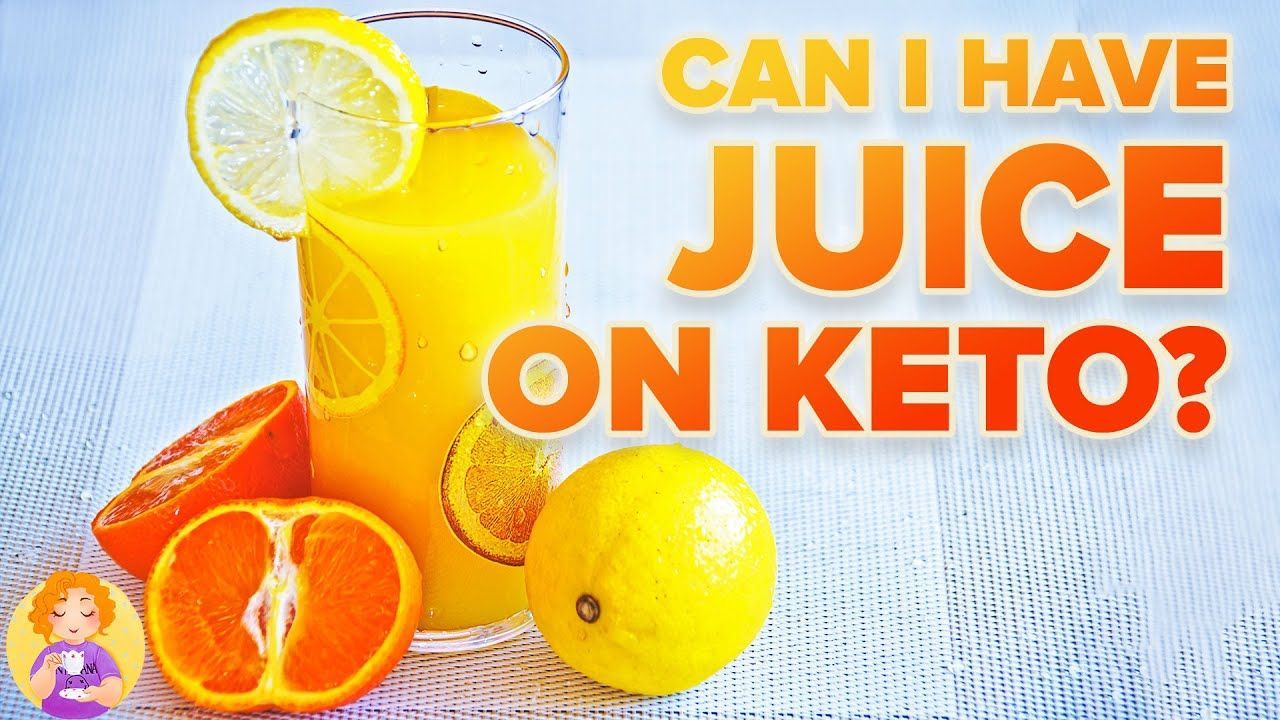 Can I have JUICE on KETO 🍊 Is Diet Soda BETTER? Keto friendly Drinks + What Can You Drink on KETO
