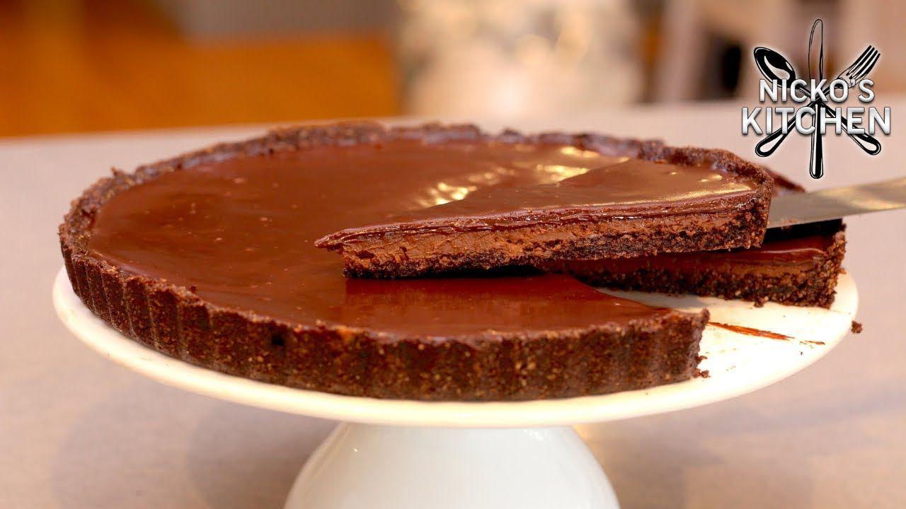 Chocolate Fudge Tart | Gluten Free – Dairy Free | Keto Dessert