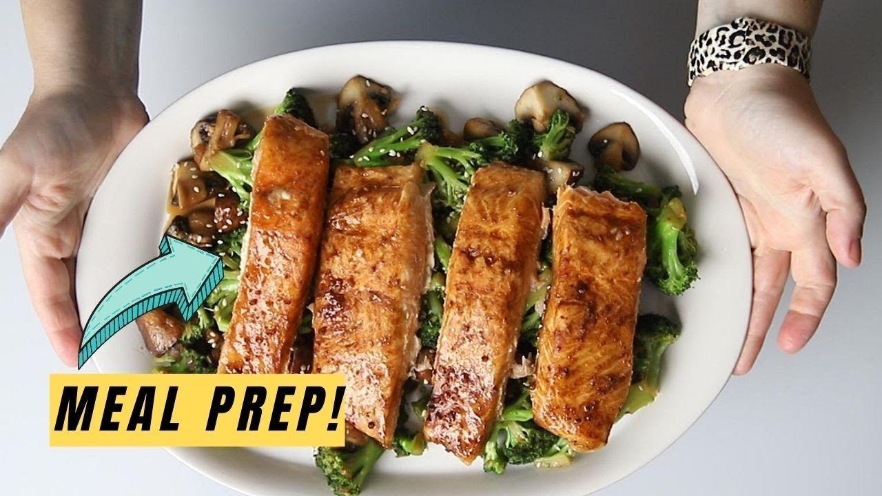 Easy Keto Teriyaki Salmon and Broccoli