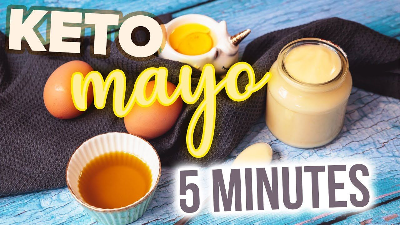 Easy Mayonnaise Recipe 🥚 How to Make KETO HomeMade Mayo in 5 minutes NO BLENDER