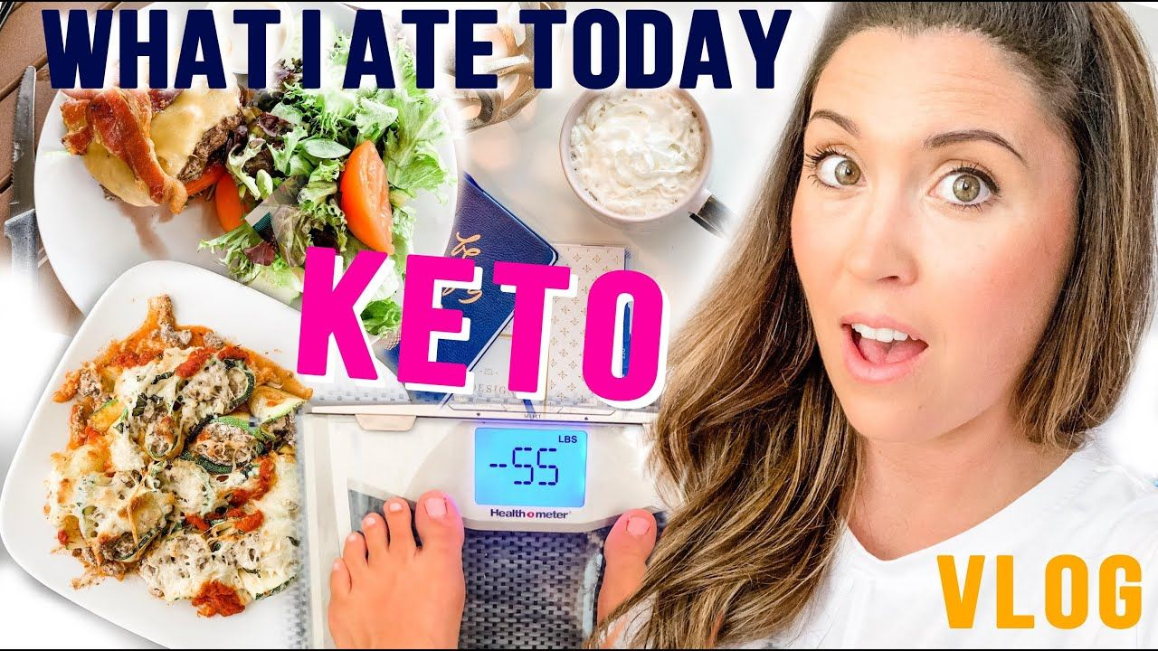 Full Day Of Keto Eating – VLOG | What I Ate Today For Fat Loss!