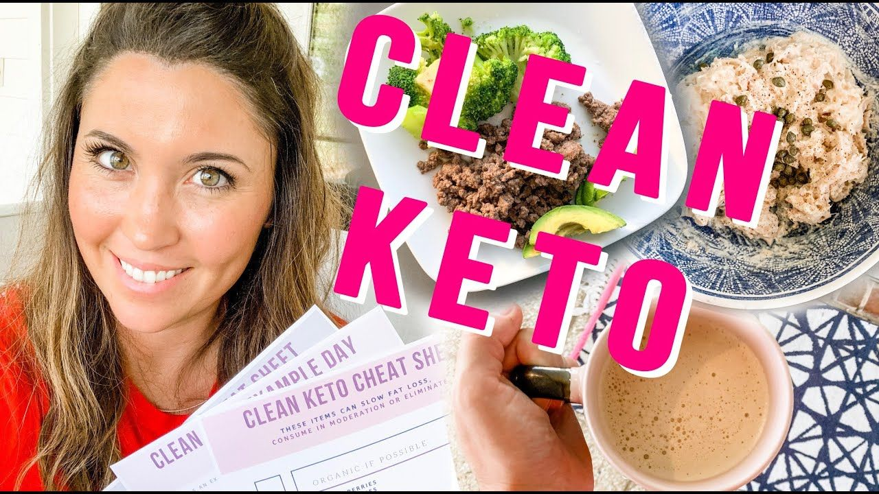 Get BETTER Results with Clean Keto? Food List and How To, Watch This!