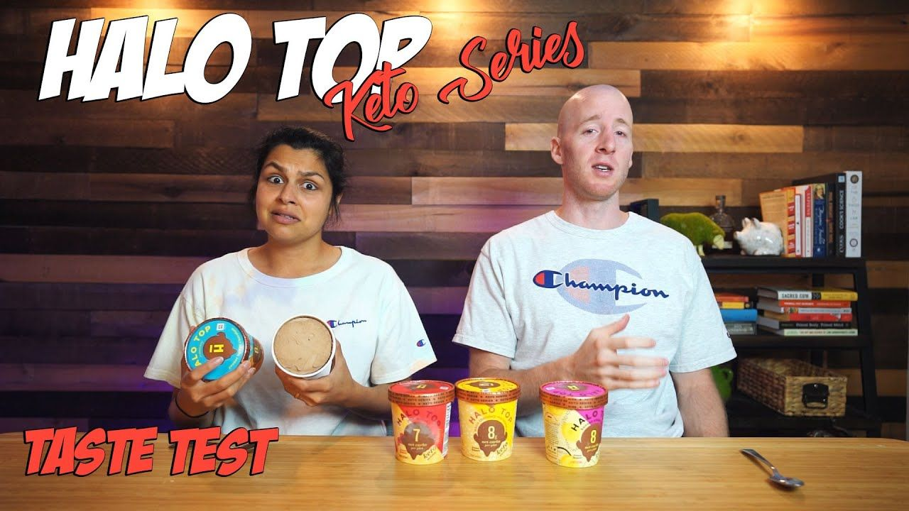 Halo Top Keto Series Taste Test | Is Halo Top The Best Keto Ice Cream?