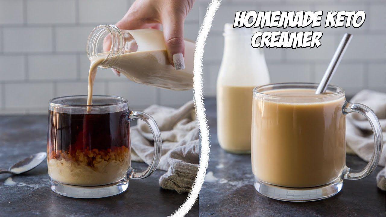 How to Make Homemade Keto Creamer | No Artificial Sweeteners