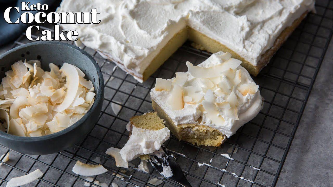 How to Make Keto Coconut Cake | Dairy Free – Nut Free – Sugar Free