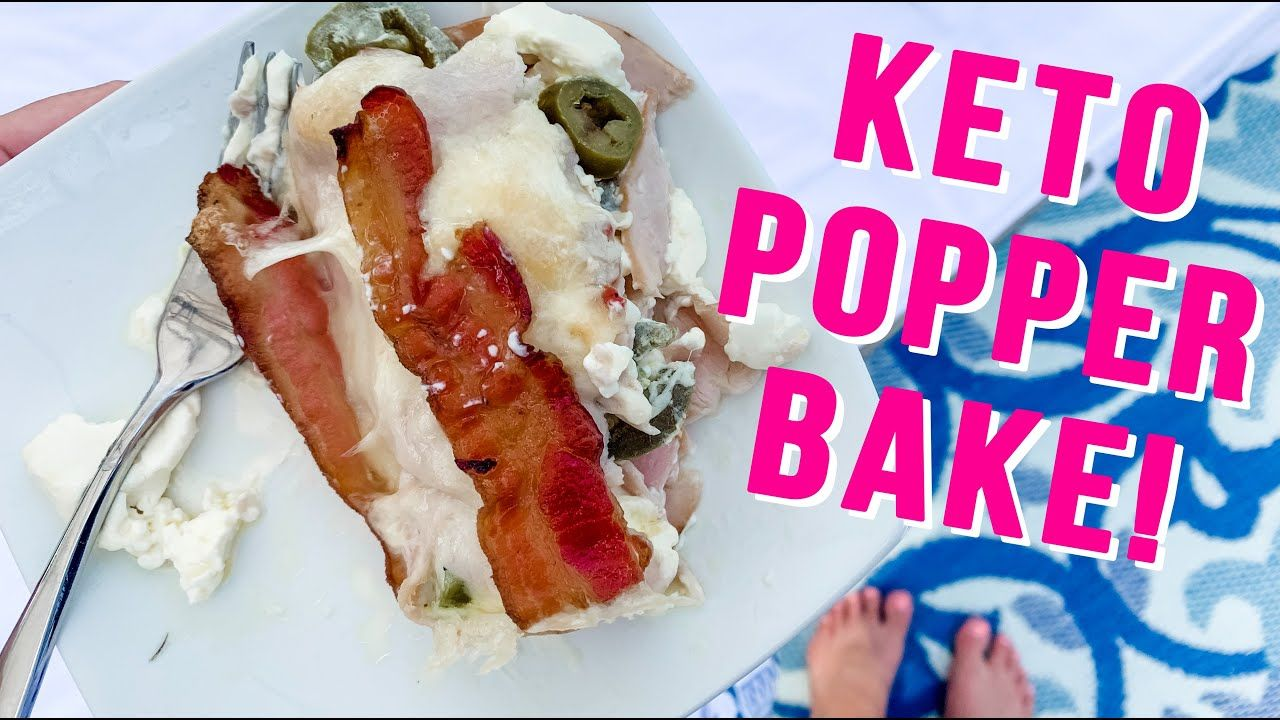 Jalapeño Popper Casserole!! (KETO Diet) Fat Burning Recipe! Low Carb