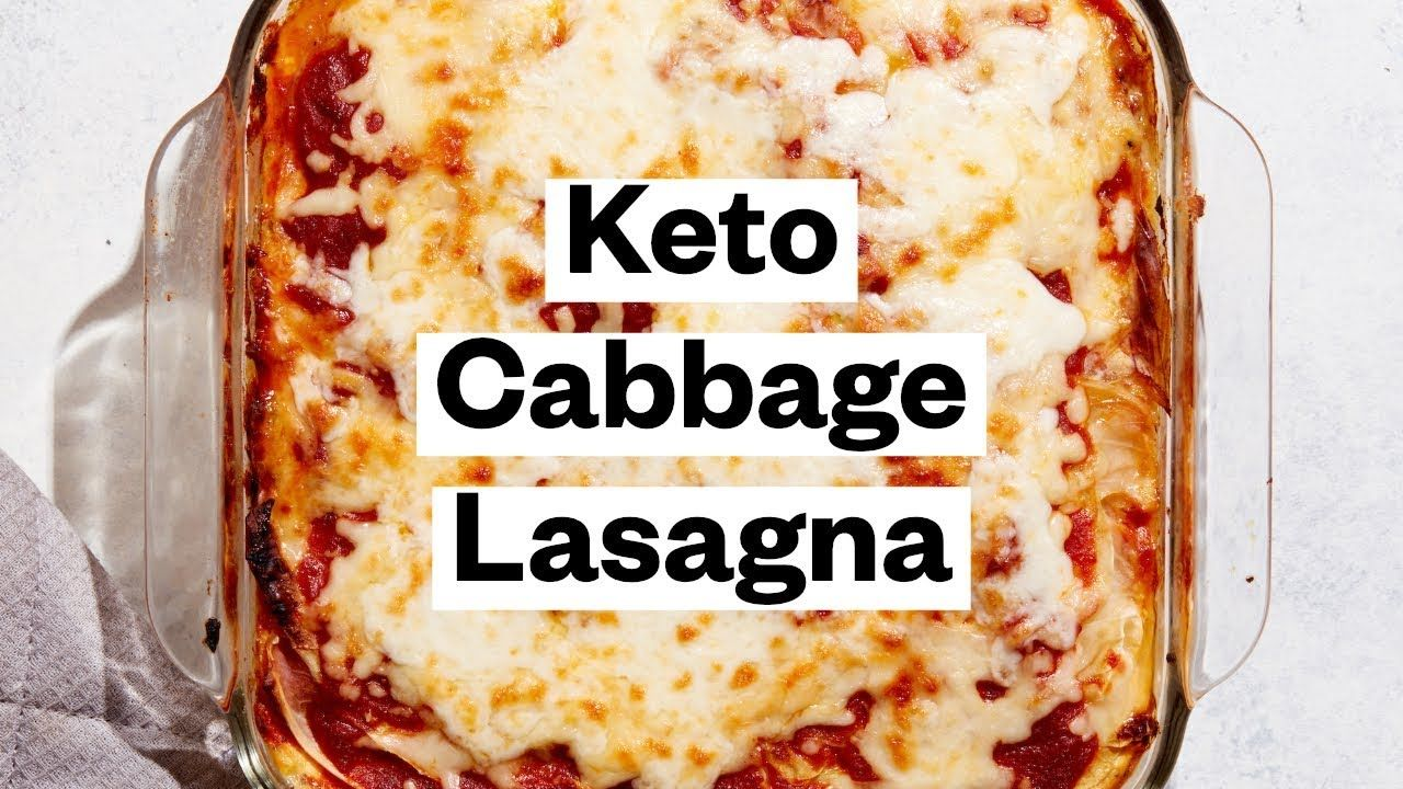 KETO LASAGNA Recipe (Low-Carb) | Thrive Market