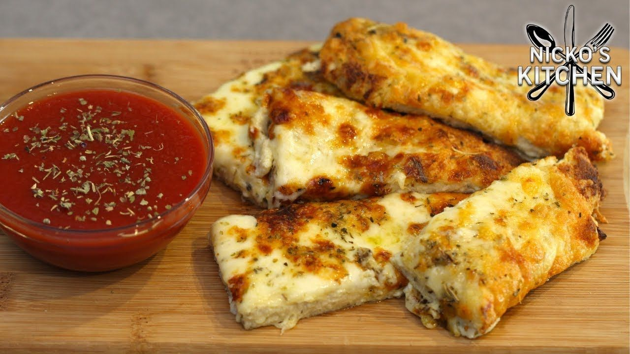 Keto Bread Sticks 🧀 Extra Cheesy | Must have Keto recipe!