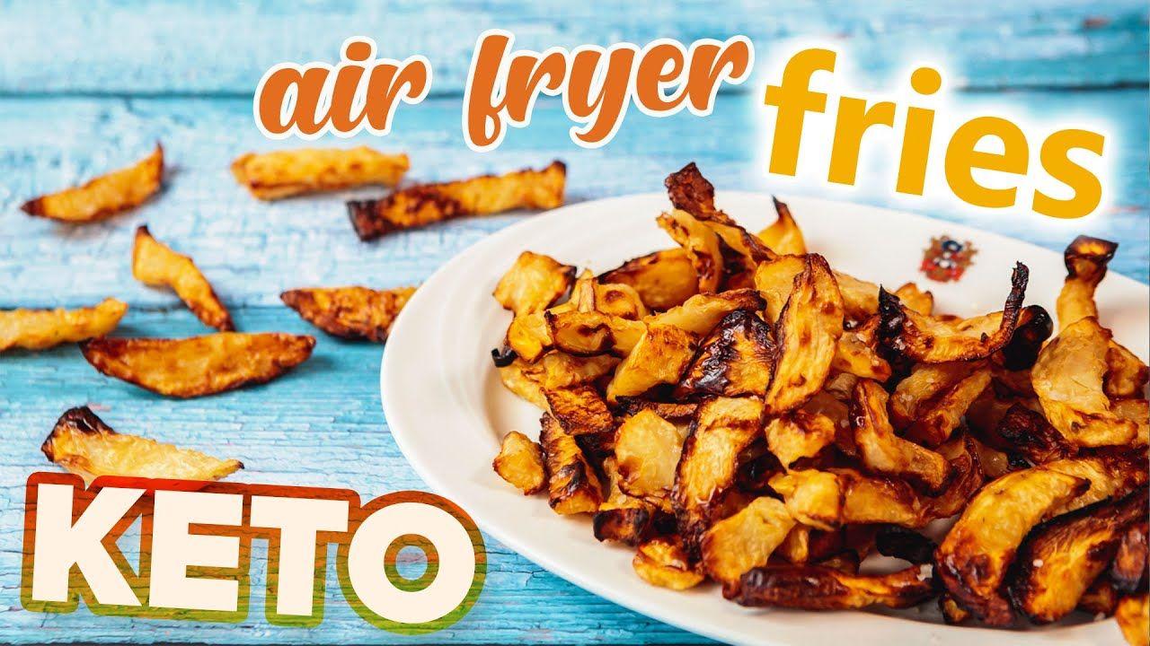 Keto CHIPS Recipe 🍟 Keto Friendly fast food fries Celeriac / Rutabaga
