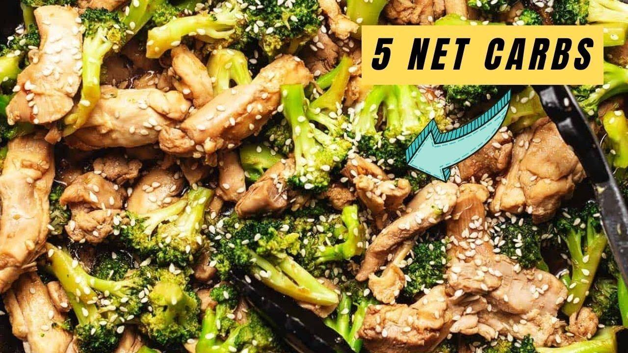 Keto Chicken Broccoli Stir Fry