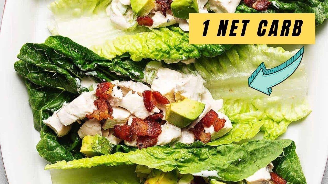 Keto Chicken Salad Lettuce Wraps