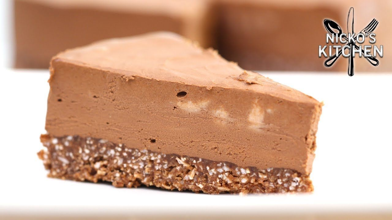 Keto Chocolate Cheesecake | No Bake Low-Carb Dessert