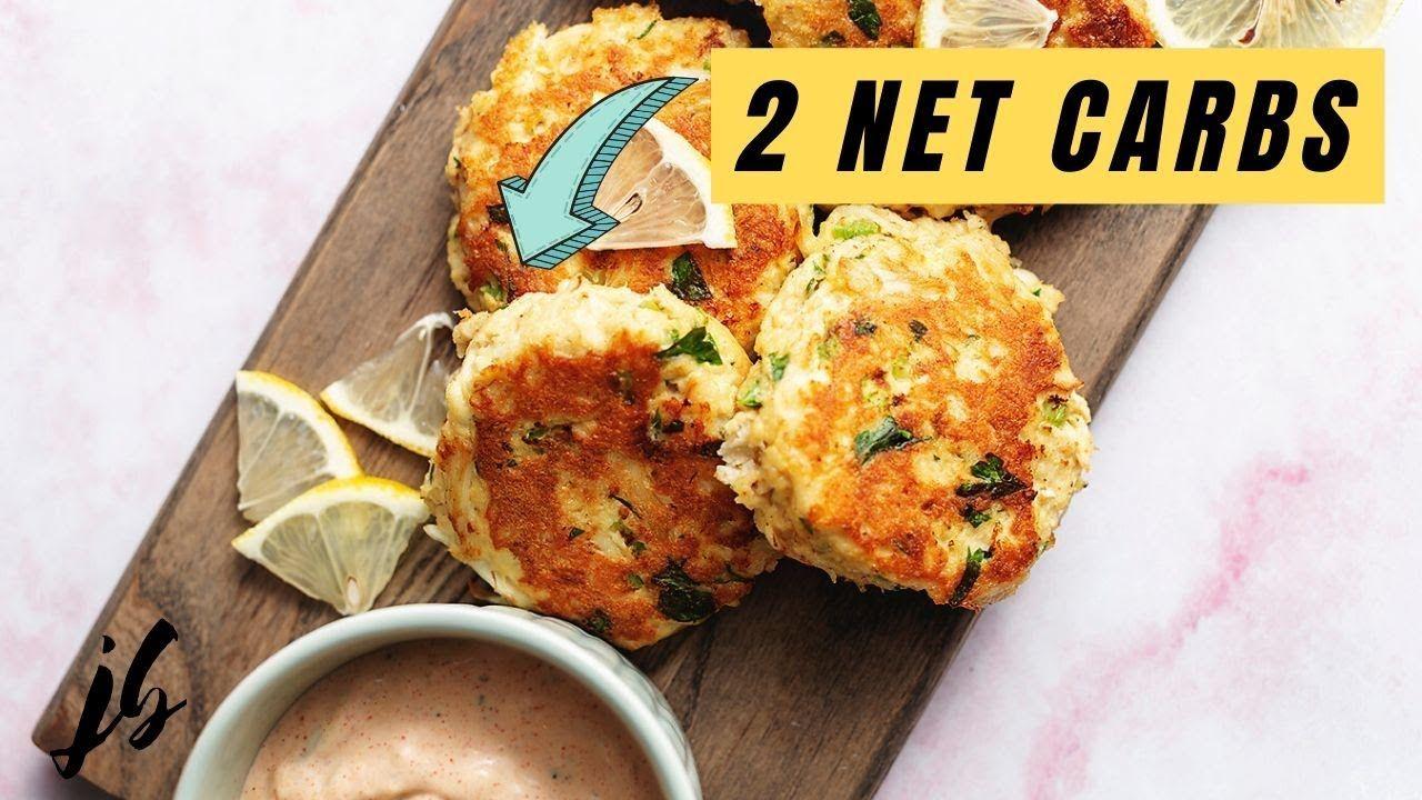 Keto Crab Cakes with Smoky Remoulade