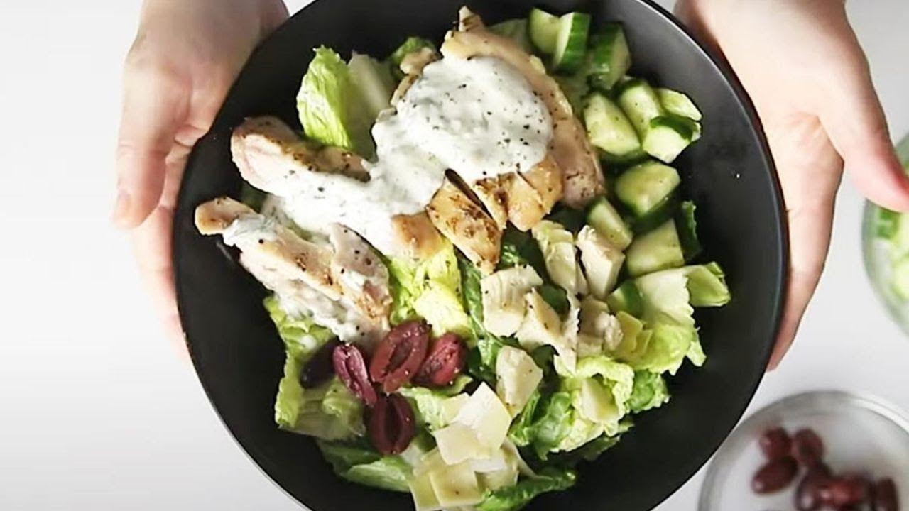 Keto Greek Chicken Bowl