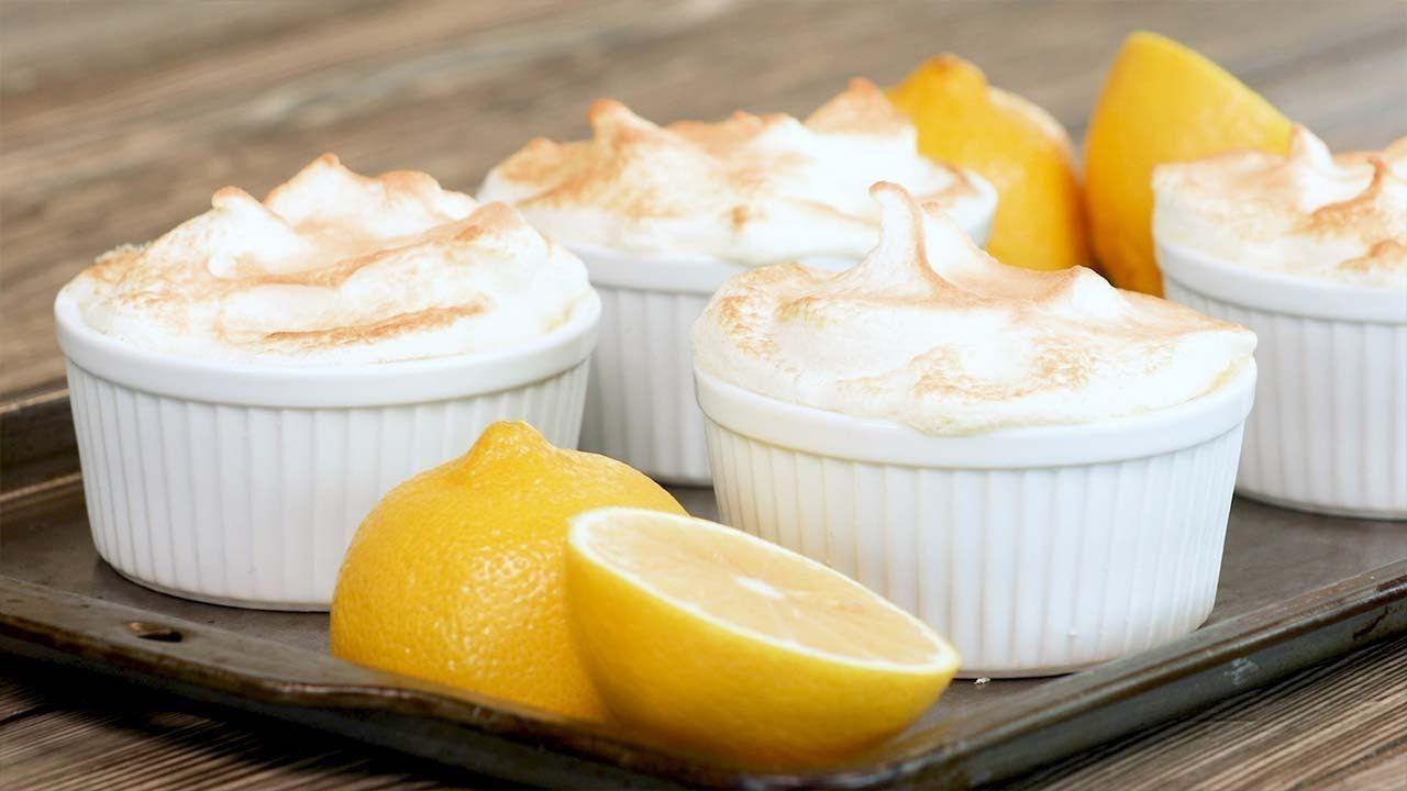 Keto Lemon Meringue Custard Recipe
