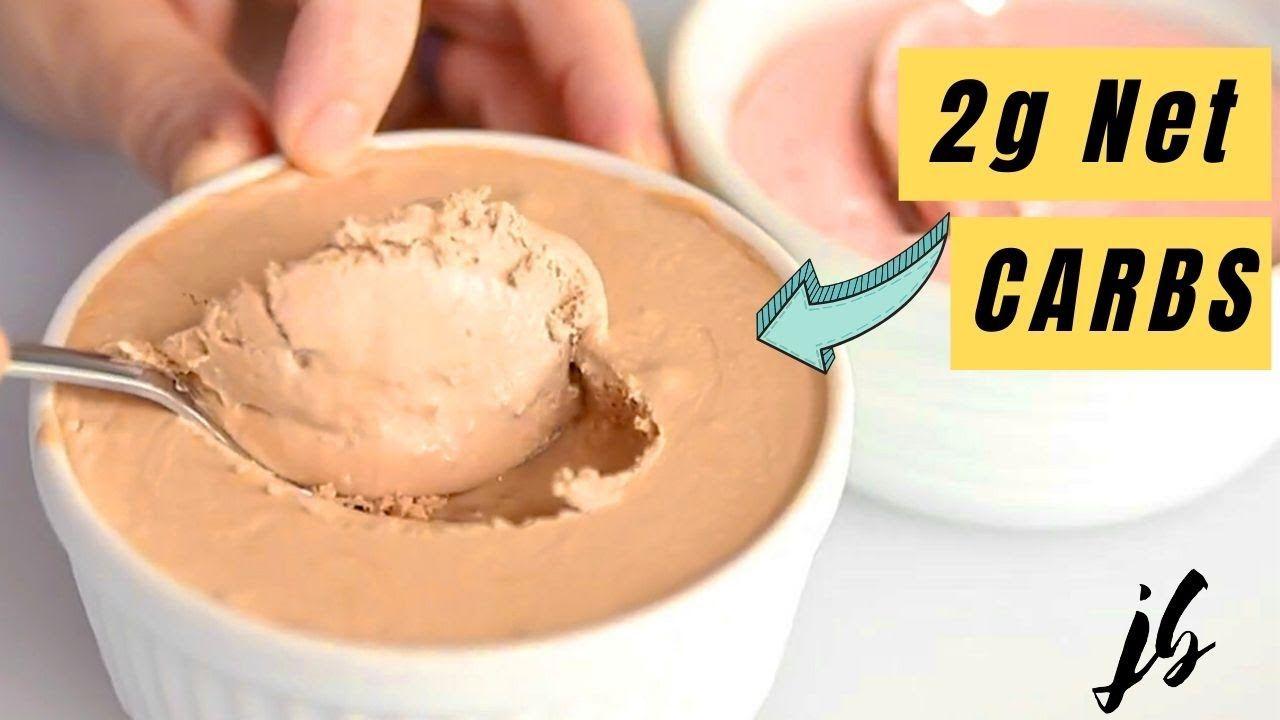 Keto Mason Jar Ice Cream – Chocolate and Strawberry