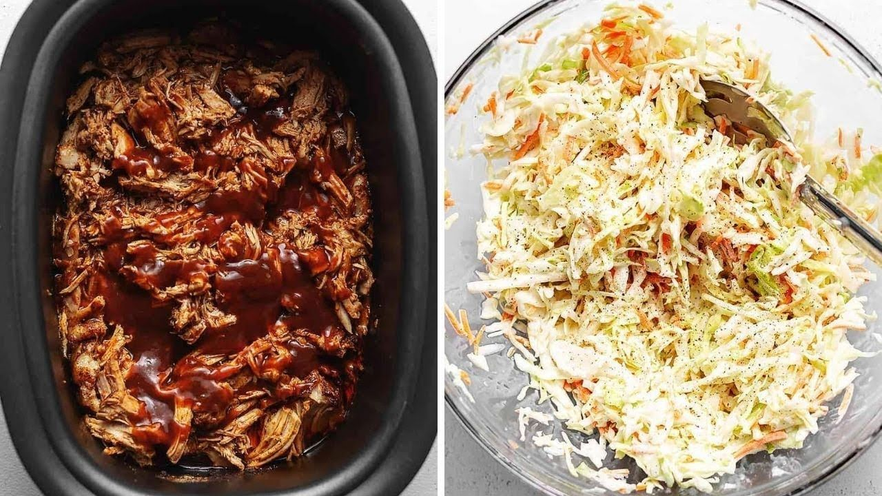 Keto Pulled Pork and Keto Coleslaw