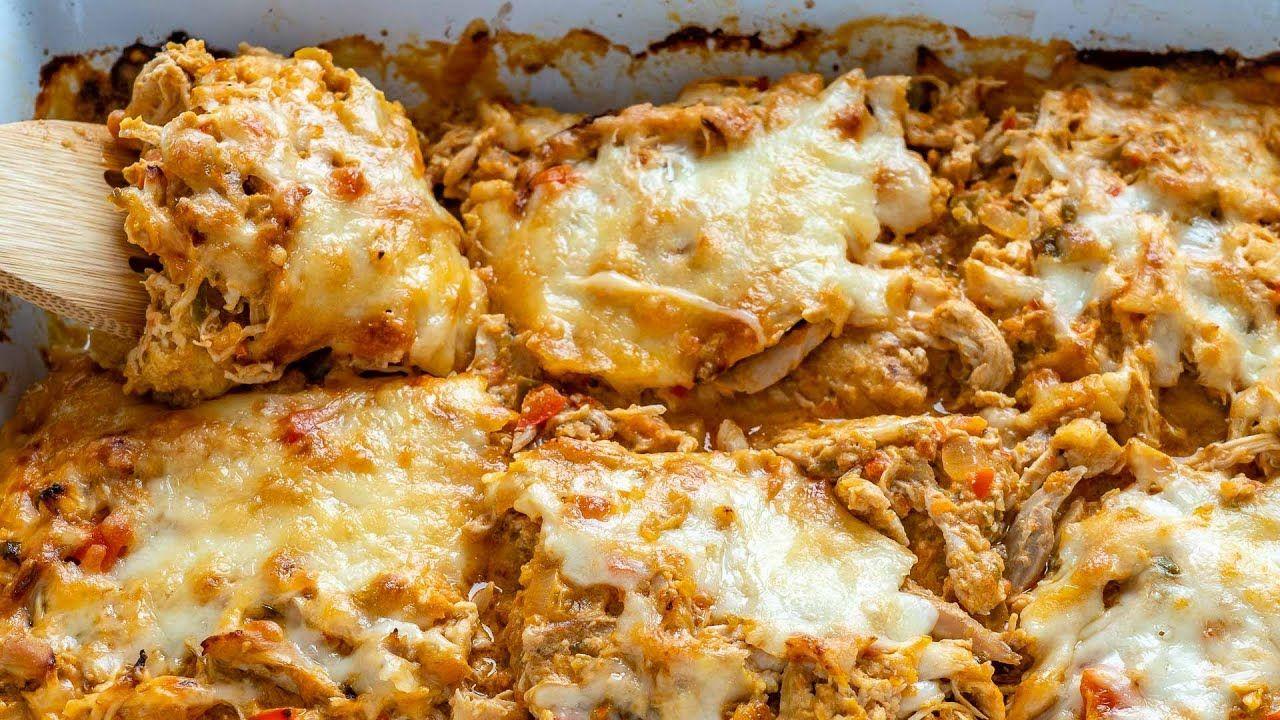Keto Recipe – King Ranch Chicken Casserole