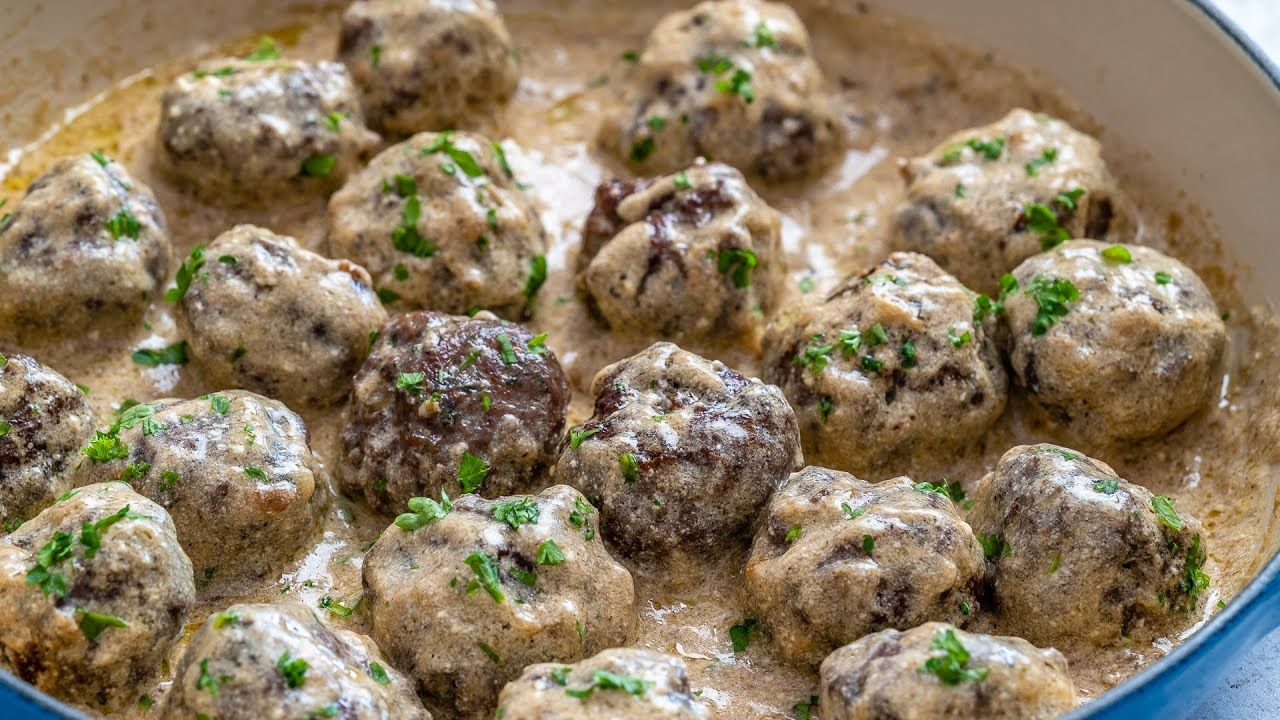 Keto Recipe – Swedish Meatballs