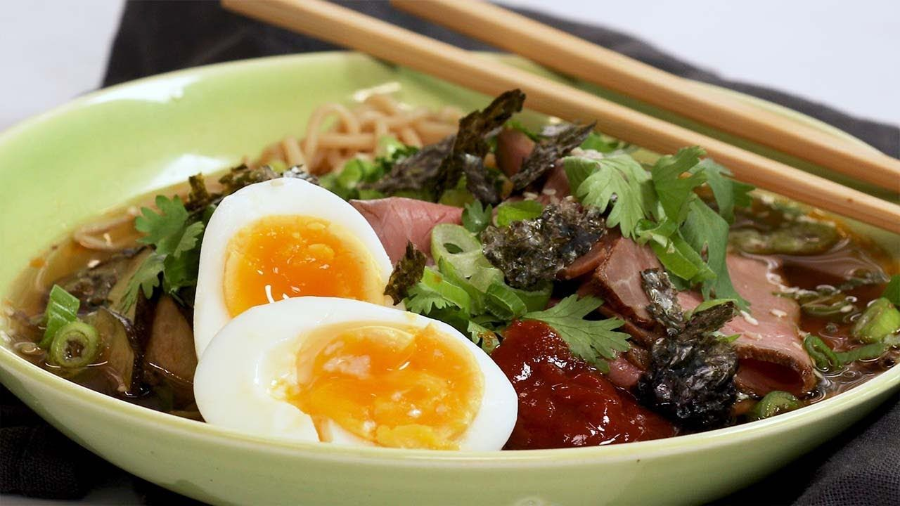 Keto Spicy Beef Ramen Bowl Recipe