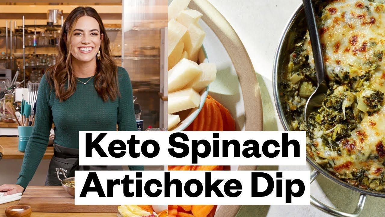 Keto Spinach and Artichoke Dip (Instant Pot)  | Thrive Market