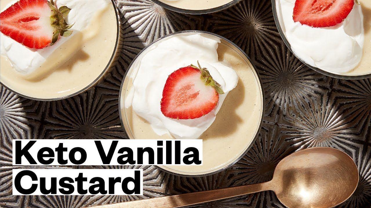 Keto Vanilla Custard (Paleo, Gluten-Free) | Thrive Market