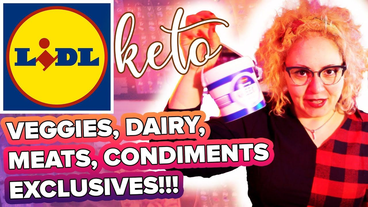 LIDL Keto Grocery Shopping List 🛒 Low Carb UK Haul October 2020