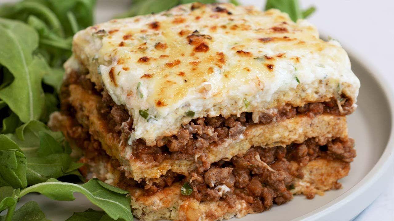 Lasagna with Keto Noodles Recipe