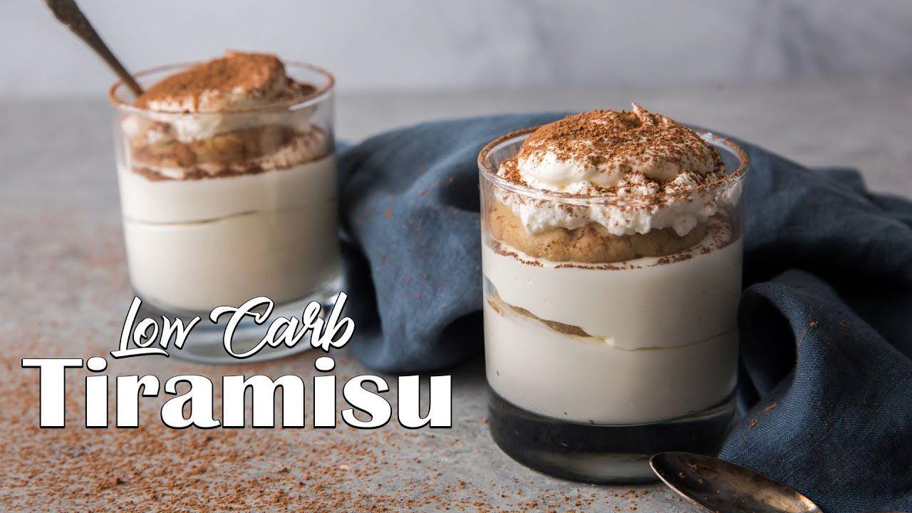 Low Carb Tiramisu in 15 Minutes | Easy Keto Dessert