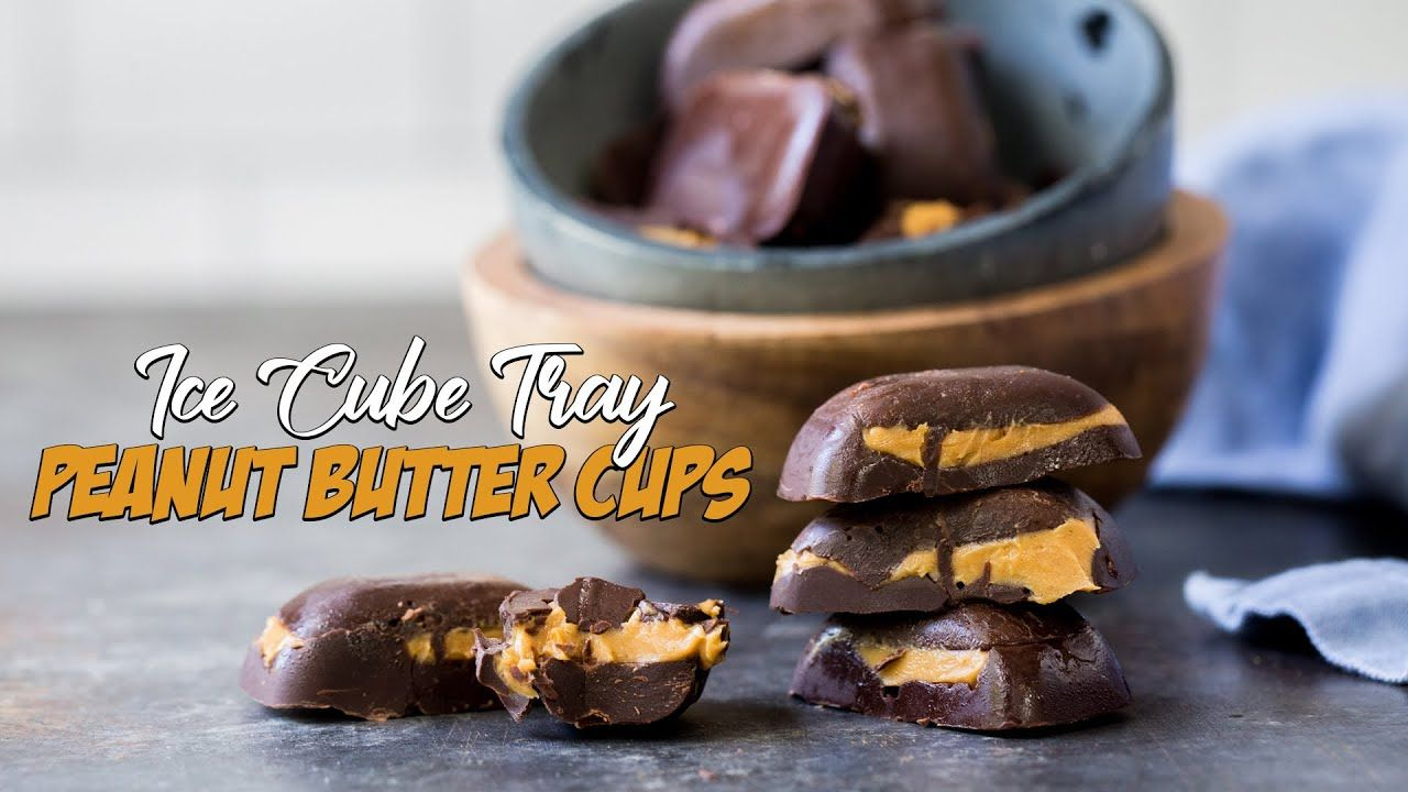Make Keto Peanut Butter Cups In An Ice Cube Tray | Very Easy