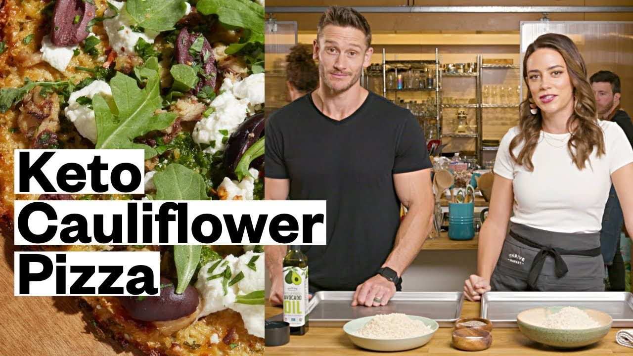 Mediterranean Keto Pizza With Thomas DeLauer – Easy Cauliflower Recipe | Thrive Market