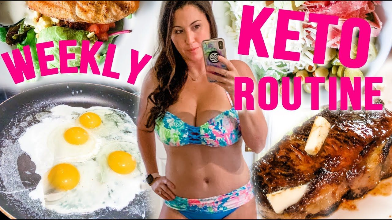 My Weekly Keto Routine w/ Food Journal and Plan!